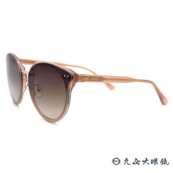 VEDI VERO 墨鏡 VE949 PHC (透棕粉) 百搭款 太陽眼鏡 久必大眼鏡