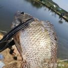 長夾控魚器抓魚鉗防滑魚夾子黃鱔夾螃蟹釣魚塑料夾鉗拿魚耐用不扎手 麥吉良品YYS