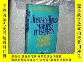 二手書博民逛書店JUST罕見IN TIME MAKING IT HAPPEN 及