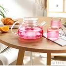 耐看實用玻璃茶壺套裝大容量家用過濾養生單壺耐高溫加熱泡茶玻璃杯 PA3668『pink領袖衣社』