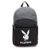 PLAYBOY- 後背包 icontype系列-灰色