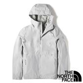 【THE NORTH FACE 美國】女 防風連帽外套『DYX 亮灰』NF0A49B9 戶外 登山 旅行 通勤 防風 保暖