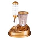 寵物餵食器 寵物飲水器狗狗飲水機喝水不濕嘴立式水壺自動掛式喂水喂食器水盆