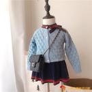 洋裝女童毛衣套裝兩件套兒童針織韓版寶寶秋裝小童公主裙【小獅子】
