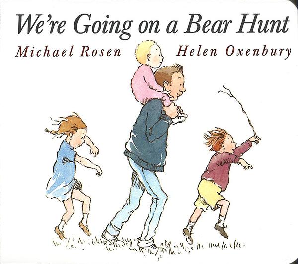 【麥克書店】WE'RE GOING ON A BEAR HUNT /英文繪本