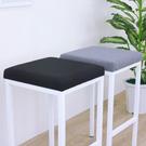 【頂堅】厚型沙發織布椅面(鋼管腳)吧台椅/高腳椅/餐椅-二色-3入組黑色