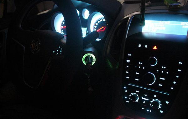 VW 鑰匙孔夜光貼 點火圈 鑰匙孔圈裝飾貼 GOLF GTI BEETLE PASSAT TIGUAN POLO A0200
