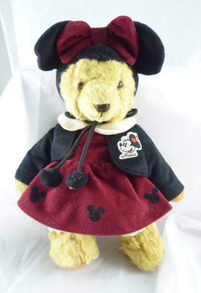 【震撼精品百貨】日本泰迪熊~玩偶『米奇黑帽/米妮黑帽』(共2款)