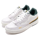 Reebok 休閒鞋 Dual Court 米白 灰 男鞋 皮革鞋面 基本款 運動鞋 【ACS】 EG6018