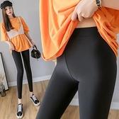 內搭褲 冰絲莫代爾打底褲女薄款八分九分外穿內搭超薄七分緊身黑色收腹新