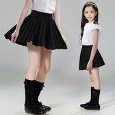 女童半身裙 中大童裙子夏季兒童短裙