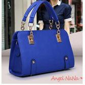 側背包女斜背包❤  歐美OL風 時尚鍊條 手提 單肩 包包(都有現貨) AngelNaNa SBA0081