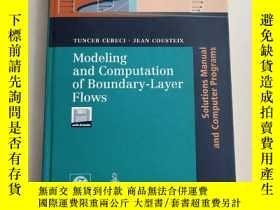 二手書博民逛書店Modeling罕見and Vomputation of Boundary-Layer Flows 邊界層流動的模