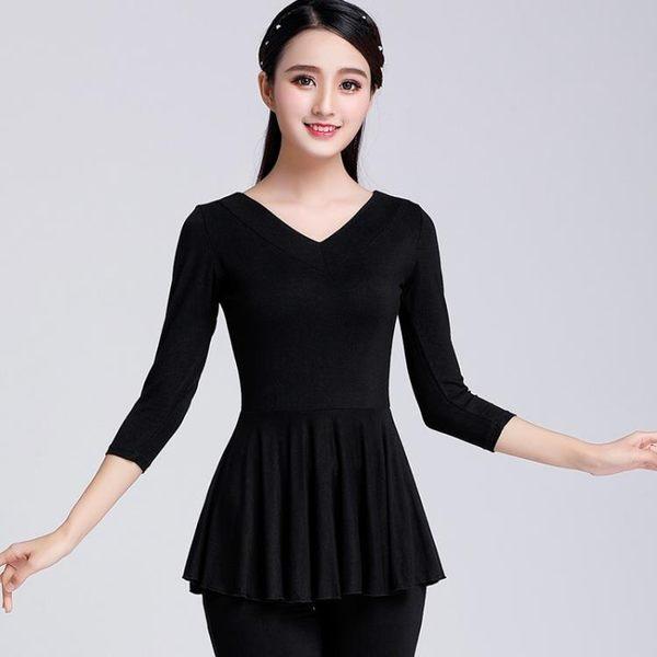 [618好康又一發]廣場舞服裝上衣中長袖服跳舞衣服女成人