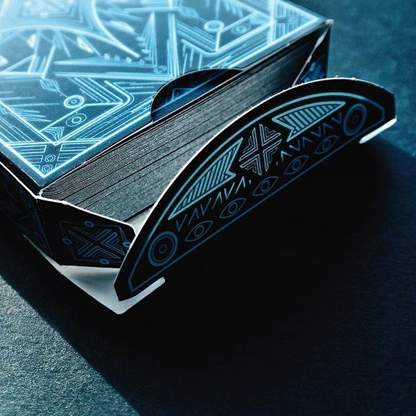 【USPCC 撲克】Artilect black deck