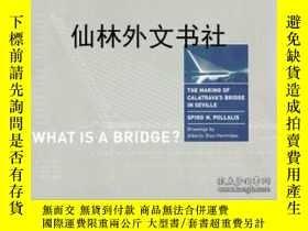 二手書博民逛書店【罕見】What Is A Bridge? The Making