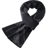 羊毛圍巾-保暖休閒百搭針織男披肩3色73wh34【時尚巴黎】