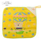 日本毛巾-Rainbow Bear彩虹熊掛式小方巾/擦手巾-熱氣球黃-玄衣美舖