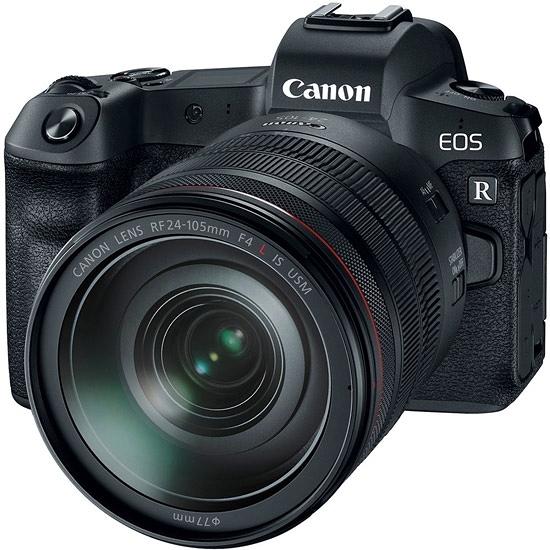 3/31前回函申請送原廠電池+原燒餐券2張 24期零利率 Canon EOS R + RF 24-105mm 變焦鏡組 (公司貨)
