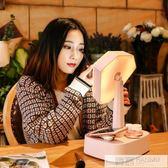 藍芽鏡子化妝鏡帶燈台式led台燈學生宿舍桌面少女心梳妝鏡公主鏡 IGO