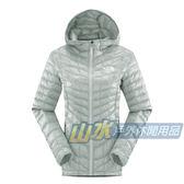 【山水網路商城】美國TNF 女 TB保暖連帽外套 ThermoBall暖魔球/保暖衣/保暖纖維/發熱衣 CUD4