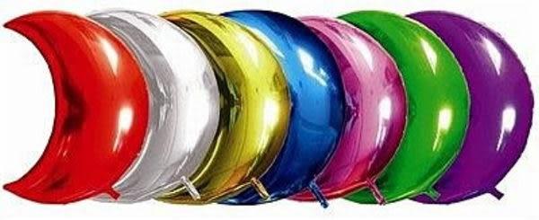 100公分月亮鋁箔氣球-銀色(未充氣)~~求婚道具/婚禮 生日 耶誕節 尾牙佈置