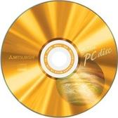 ◆免 ◆三菱空白光碟片地球版白金片52 倍速80min 700mb 空白燒錄片50 片布丁