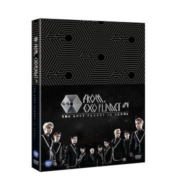 EXO FROM. EXOPLANET #1 DVD THE LOST PLANET  in SEOUL台壓繁體字幕版