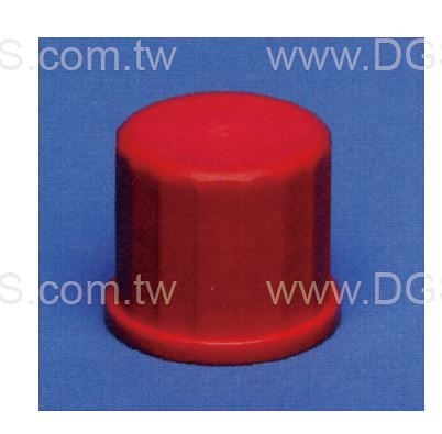 《德製》 螺牙接管用 螺蓋 Plastic Screw Caps, Closed, Red