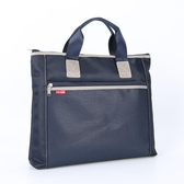 公文包手提文件袋A4大加寬牛津布公文包男女士商務辦公政府開會資料袋雙12搶購