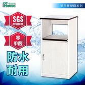IHouse-零甲醛 環保塑鋼1托1門電器櫃W45×D42×H112米色