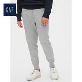 Gap男裝 Gap徽標柔軟復古束口褲488116-麻灰色