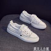 洋氣板鞋新款透氣潮鞋單鞋錢夫人小鋪