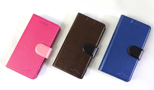 【三亞科技2館】HTC ONE M9 plus/M9+ 5.2吋 雙色側掀站立 皮套 保護套 手機套 手機殼 保護殼 手機皮套