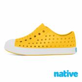 native 小童鞋 JEFFERSON 小奶油頭鞋-蠟筆黃x貝殼白