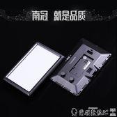 美顏燈南冠LED攝像燈婚慶攝影燈小型單反相機外拍燈拍照補光燈手持便攜打光燈 爾碩LX