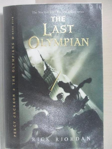 【書寶二手書T1/原文小說_ACM】The Last Olympian_Riordan, Rick