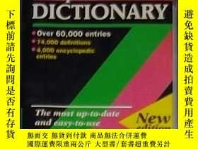 二手書博民逛書店英文原版罕見The Oxford Paperback Dicti