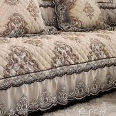 沙發墊夏季歐式四季通用巾罩布藝皮沙發坐墊全蓋沙發套全包萬能套「多色小屋」
