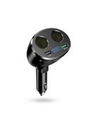 車載充電器多功能一拖三一拖二點煙器轉換插頭USB快充汽車充用品 後街五號