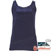 Wildland 荒野 0A71635-72深藍 女彈性圓領內搭背心 內搭衣/抗UV/吸濕快乾/旅遊休閒/運動背心