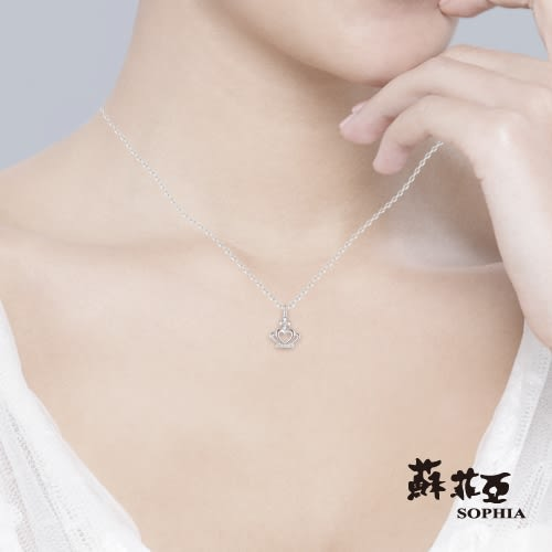 蘇菲亞 SOPHIA - 安卡拉0.06克拉9K金鑽石項鍊