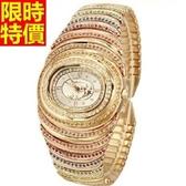 鑽錶-新款大方嚴選女手錶2色5j39【巴黎精品】