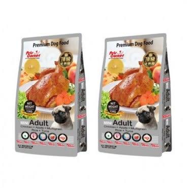 Pets Corner 沛克樂 頂級天然糧雞肉 小顆粒 養生五穀 1.5kgX2包