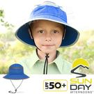 Sunday Afternoons S2D03037B-564皇室藍  兒童防潑水圓桶帽(安全扣) 防曬休閒帽