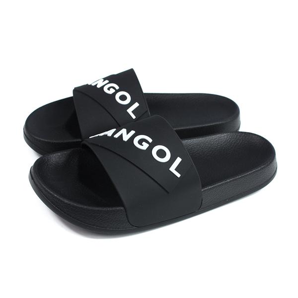 KANGOL 拖鞋 戶外 防水 男鞋 黑色 6025220120 no088