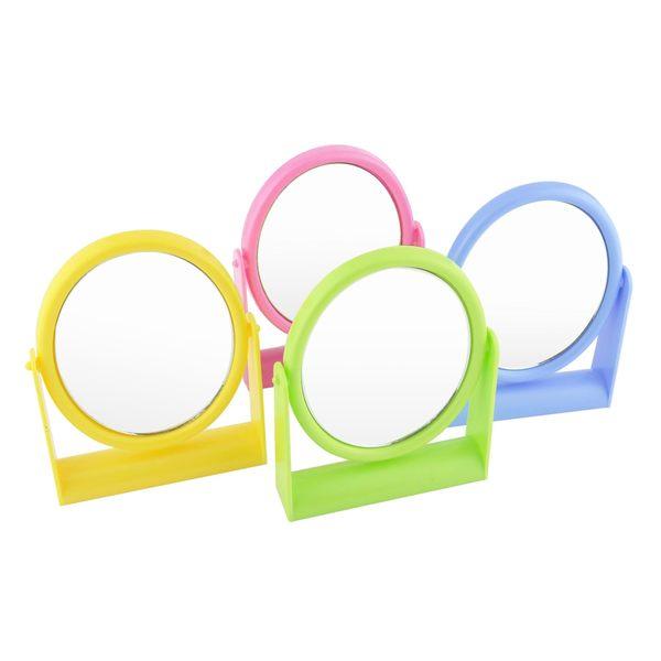 小美人鏡K-827 桌上型立鏡/化妝鏡/鏡子 橢圓鏡