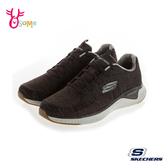 Skechers運動鞋 男款 記憶鞋墊運動鞋 輕量 跑步鞋 T8273#咖啡◆OSOME奧森鞋業