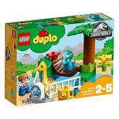 樂高積木 LEGO《 LT10879 》2018 年 Duplo 得寶系列 - 侏儸紀世界 - 可愛大怪區╭★ JOYBUS玩具百貨