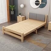 折疊床 折疊床實木家用單人床成人午休床經濟型出租房簡易雙人床1.2米床【快速出貨八折下殺】
